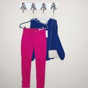 Rag & Bone Pink Legging Skinny Jeans